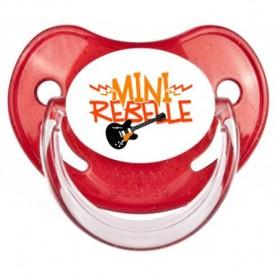 Tétine personnalisée Mini rebelle