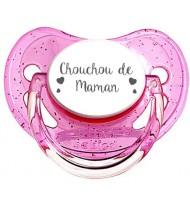Tétine personnalisée Chouchou de maman