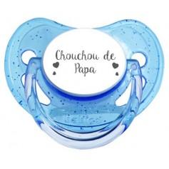 Tétine personnalisée Chouchou de papa