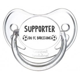 Tétine foot Supporter FC Barcelone
