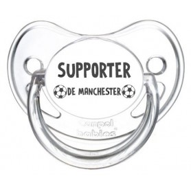 Tétine foot Supporter Manchester