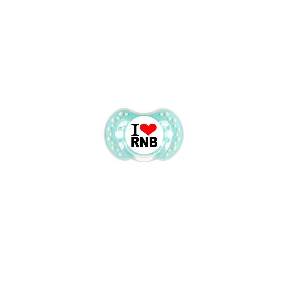 """Tétine bébé """"I love rnb"""""""