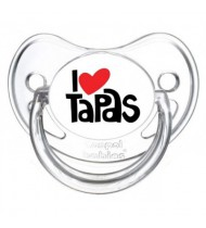 "Tétine bébé ""I love tapas"""