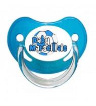 Tétine personnalisée baby marseillais ballon
