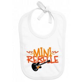 Bavoir bébé Mini rebelle