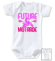 Body bébé Future motarde