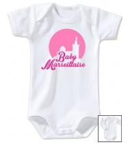 Body bébé Baby marseillaise