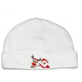 Bonnet bébé Père Noël
