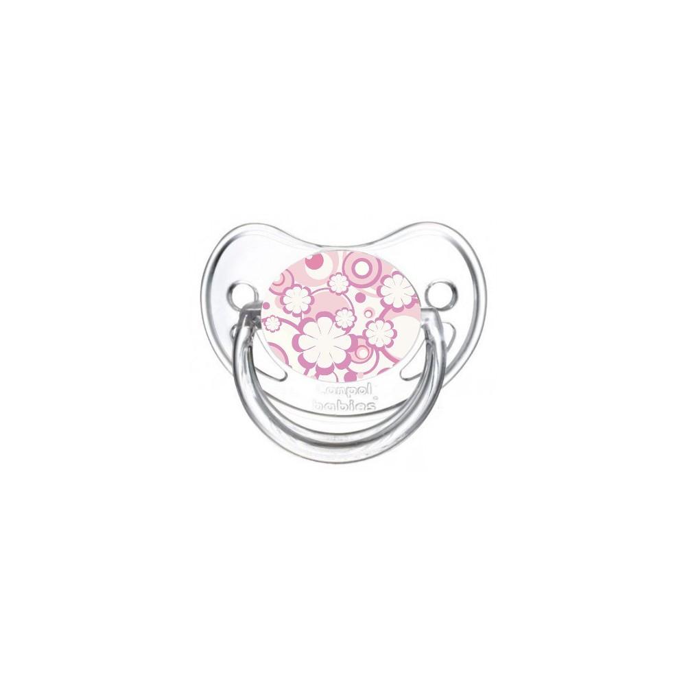 Tétine de bébé fleur violette