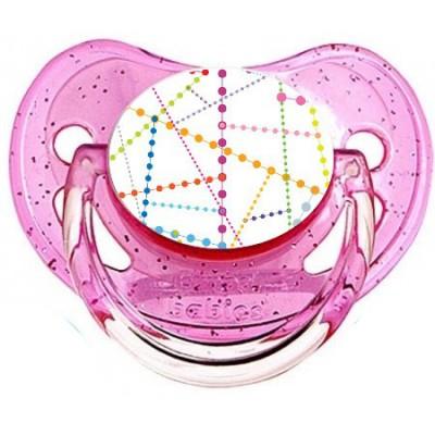 Tétine de bébé molécule