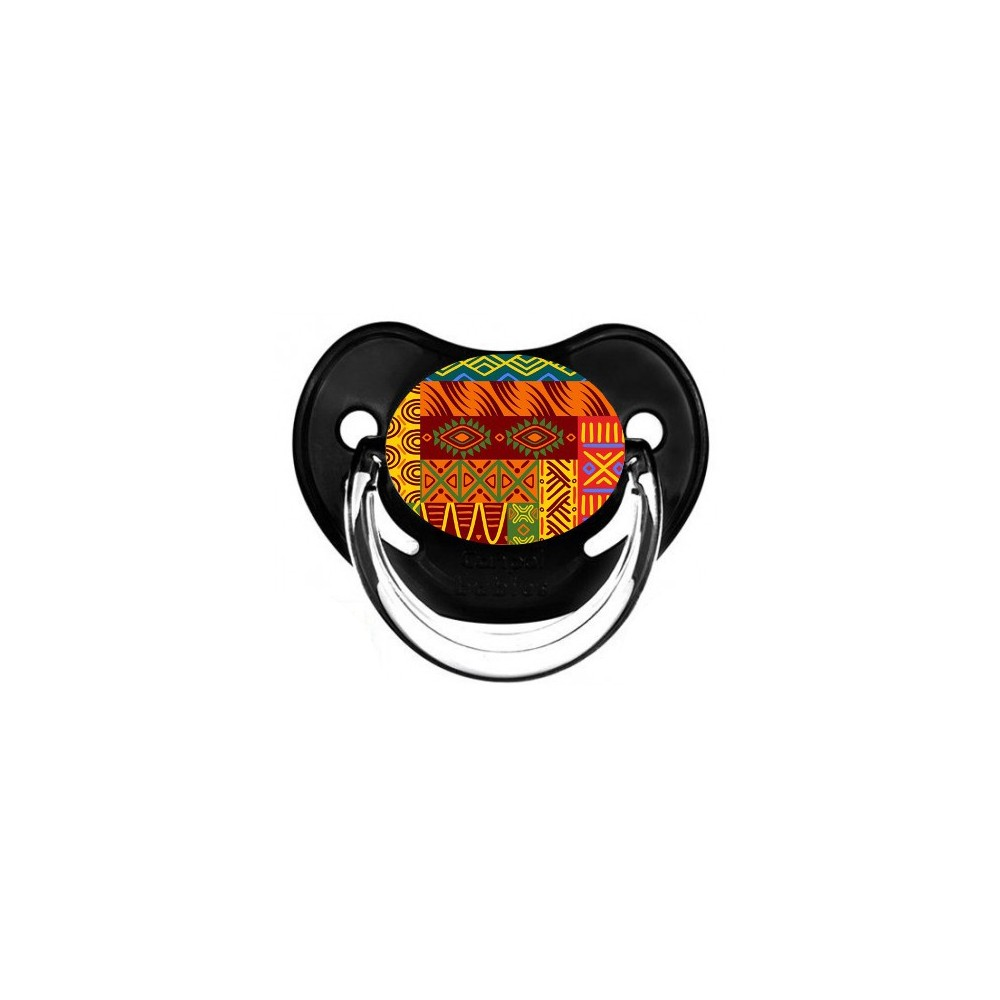 Tétine de bébé fleur africain 2