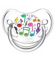 Tétine de bébé musique
