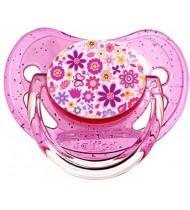 Tétine de bébé fleur multicolors