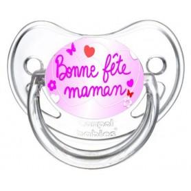 Tétine personnalisée Bonne fête maman