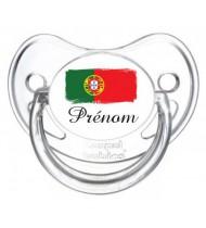 Tétine personnalisée Portugal et prénom