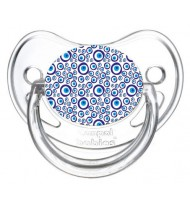 Tétine de bébé motif oeil grec turc