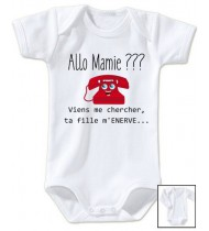 Body bébé Allo mamie