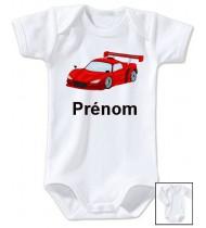Body personnalisé voiture prénom