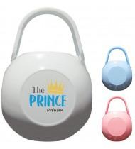 Boîte à tétine personnalisée The Prince Prénom