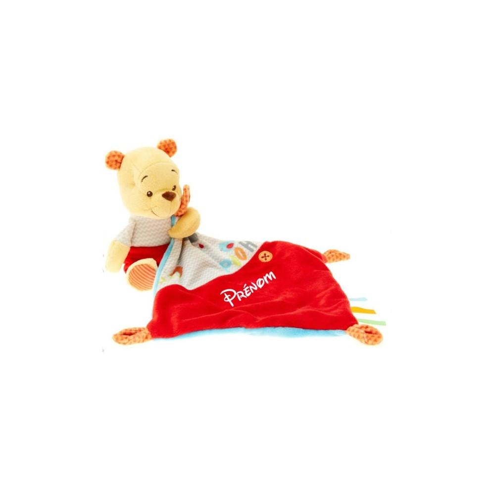 Doudou personnalisé Winnie l'ourson