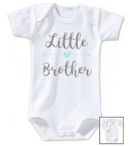 Body bébé personnalisé Little brother (petit frère)
