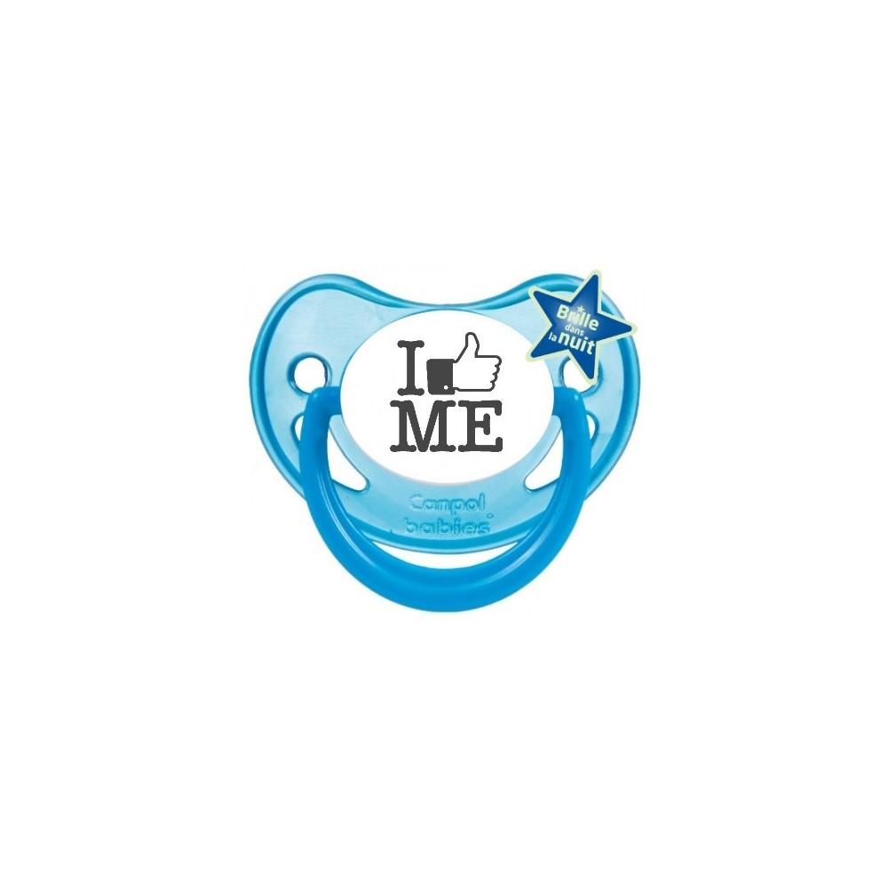 "Tétine bébé originale ""I like me"""