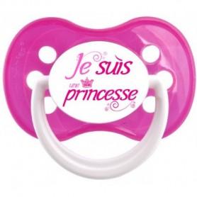 Tétine personnalisée Je suis une princesse