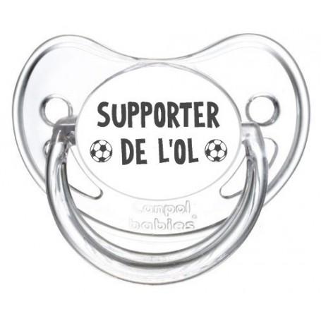 Tétine foot Supporter OL Lyon