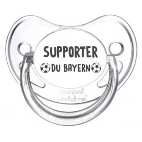 Tétine foot Supporter Bayern