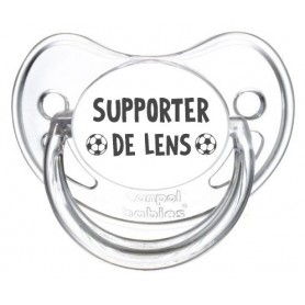Tétine foot Supporter Lens