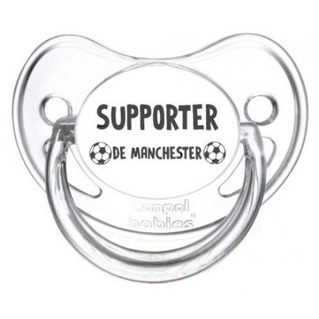 Tétine foot Supporter Manchester