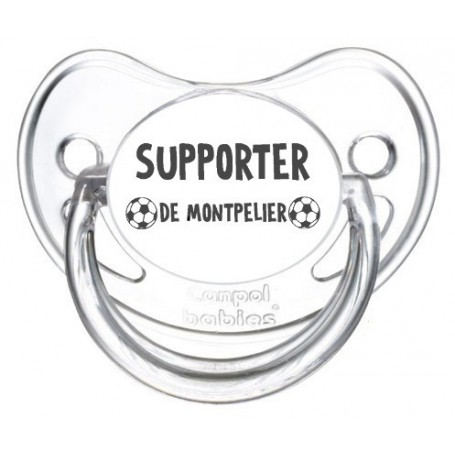 Tétine foot Supporter Montpelier