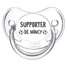 Tétine foot Supporter Nancy