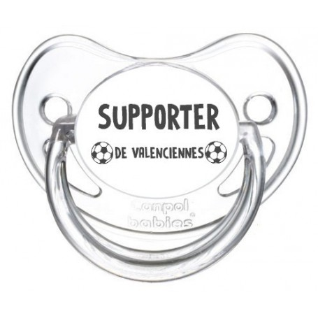 Tétine foot Supporter Valenciennes