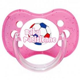 Tétine personnalisée baby parisienne ballon