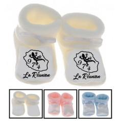 Chaussons bébé La Réunion