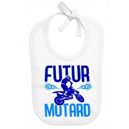Bavoir bébé Futur motard