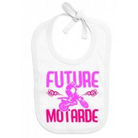 Bavoir bébé Future motarde