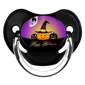 "Tétine personnalisée ""happy halloween"""