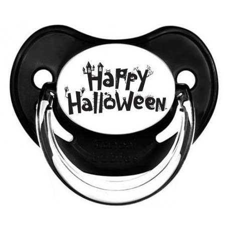 "Tétine personnalisée ""happy halloween 2"""
