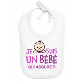 Bavoir bébé Bébé qui assure