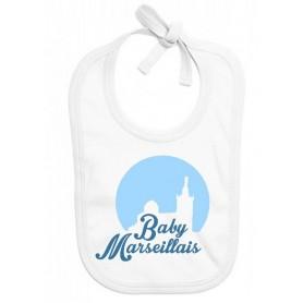 Bavoir bébé Baby marseillais
