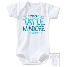 Body bébé Tatie m'adore
