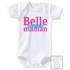 Body bébé Belle comme maman