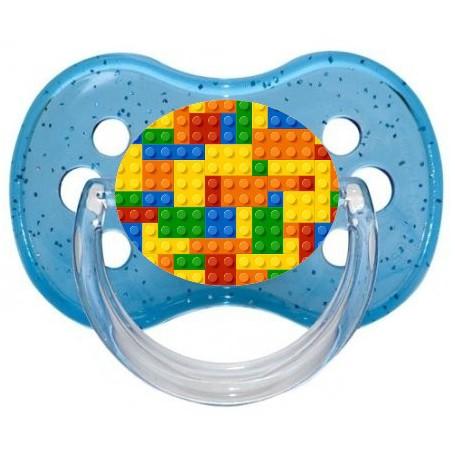 Tétine de bébé lego