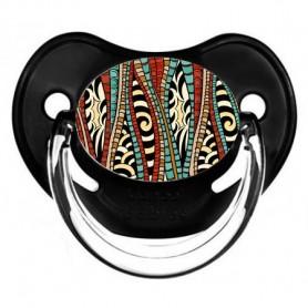 Tétine de bébé africain