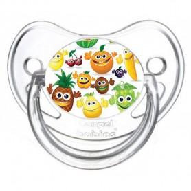 Tétine de bébé fruits