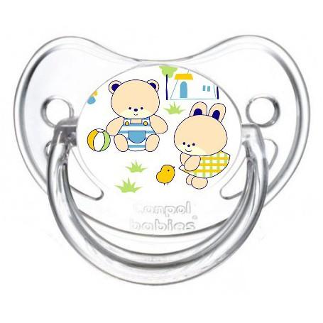 Tétine de bébé nounours