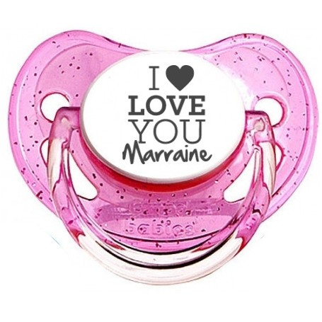 Tetine I love you marraine