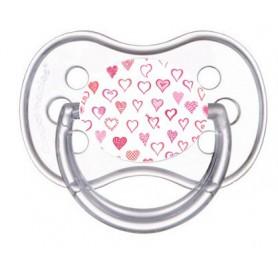 Tétine de bébé petits coeurs